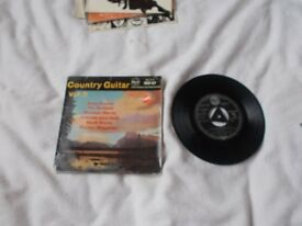 Vinyl 7in EP Country Guitar Various Artists Vol 5 RCA RCX 127 Mono
