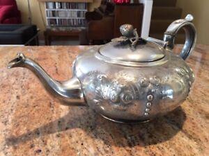 PEWTER TEA POT