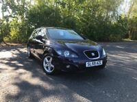 2009 SEAT LEON S EMOCION BLUE PETROL 66,000 MILES ONE OWNER GREAT CAR MUST SEE £4250 OLDMELDRUM