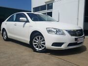 2010 Toyota Aurion GSV40R MY10 AT-X White 6 Speed Sports Automatic Sedan Maryborough Fraser Coast Preview