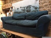 Free large sofa, covers need a wash