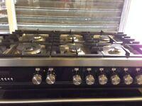 Graded Brittania dual fuel range cooker