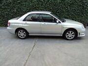 2006 Subaru Impreza S MY06 AWD Silver 4 Speed Automatic Sedan Collingwood Yarra Area Preview