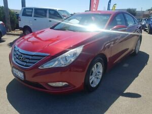 2011 Hyundai i45 YF MY11 Active Burgundy 6 Speed Automatic Sedan Wangara Wanneroo Area Preview