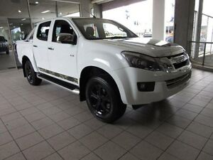 2016 Isuzu D-MAX TF MY15.5 LS-U HI-Ride (4x4) Splash White 5 Speed Automatic Crew Cab Utility Thornleigh Hornsby Area Preview