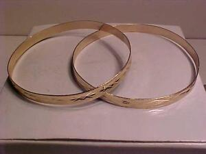 "#948-8K-YELLOW GOLD DESIGNED-HALLMARKED .333-8K-1/4"" WIDE--BUY 1 OR BOTH-FREE SHIPPING IN CANADA-EBANK TRANSFER ACCEPTED"