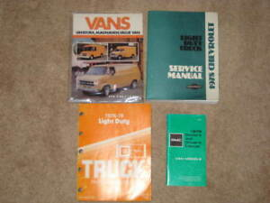 1978 GMC MANUALS AND OTHERS