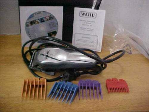 WAHL Adjustable Pet Animal Hair Clippers & Attachments Free Shipping