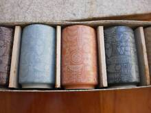 GRIZELLIE TEA CUPS JAPANESE    SIX OF AS NEW  CONDITION OLD Bald Hills Brisbane North East Preview