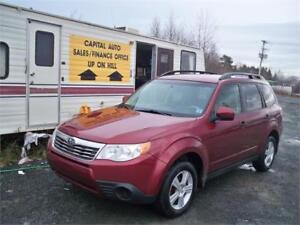 GREAT DEAL ON 2010 FORESTER ! ALL WHEEL DRIVE ! FINANCING AVAILA