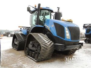 New Holland T9.670 SmartTrax Tractor - Megaflow, PTO, GPS, HID's