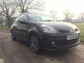 Speedy hatchback (2005 Renault Clio 1.5l) with premier features seeking new owner