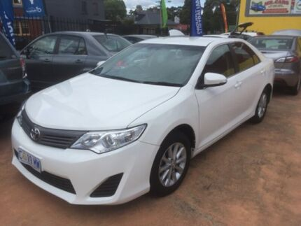2012 Toyota Camry White 5 Speed Automatic Sedan North Hobart Hobart City Preview