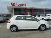 2011 Toyota Corolla ZRE152R MY11 Ascent White 4 Speed Automatic Hatchback Belmore Canterbury Area Preview