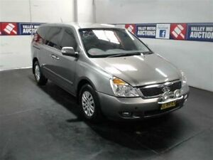 2011 Kia Grand Carnival VQ MY11 Grey 4 Speed 4 Sp Automatic Wagon Cardiff Lake Macquarie Area Preview