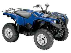 YAMAHA GRIZZLY 700 USE MILLAGE BAS West Island Greater Montréal image 1