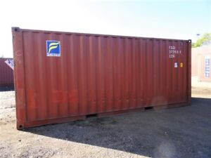TOR 20' Used Shipping Container