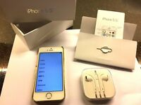 Iphone 5S Gold 16GB - Perfect Christmas Present