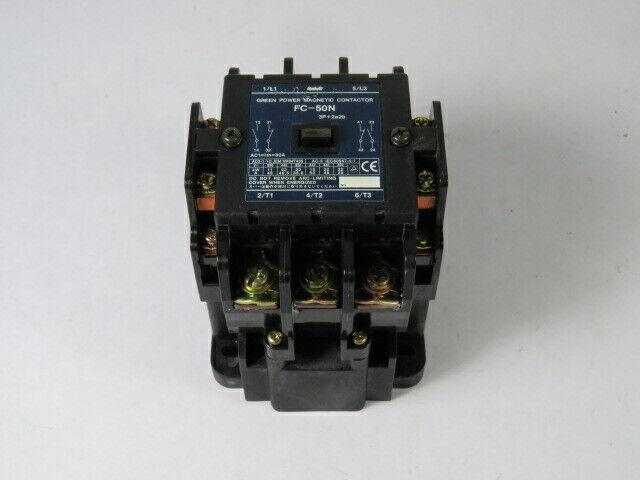 Matsushita FC-50N-AC200V Magnetic Contactor 200-220V 50/60Hz  USED