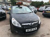 2009 Vauxhall Opel Corsa 1.2 Design, MANUAL, PERFECT FOR NEW DRIVER, ONE OWNER