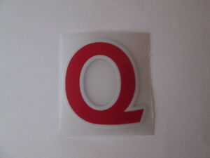 letter-Q-Red-Premier-League-EPL-Football-Shirt-name-set-Sporting-ID-Replica-Size