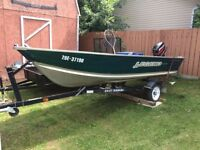 Deep and Wide Legend / 25 Mercury Fishing package
