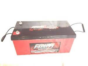 """CAMPERVAN / LIGHTING TOWER 12V220AH DEEP CYCLE """"POWER AGM"""" Welshpool Canning Area Preview"""