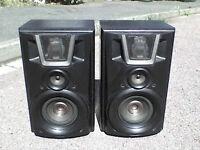 160W Technics Panasonic VC958 Stereo Power Speakers - Heathrow