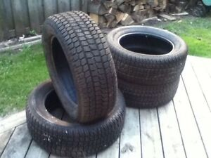 Firestone Firehawks 245/55/ r18 Complete Winter Tires LIKE NEW