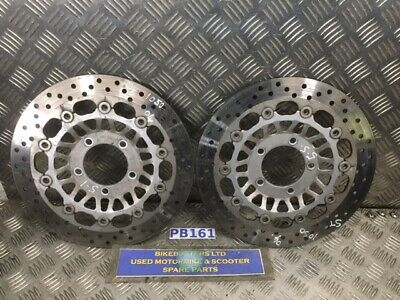 TRIUMPH ST 1050 FRONT BRAKE DISCS 2004 TO 2006 MODEL