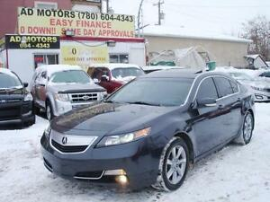 2012 ACURA TL SPORT LEATHER SUNROOF FULL LOAD 90K-100% FINANCING