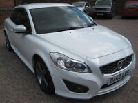 2010 60 Volvo C30 2.0 R-Design White
