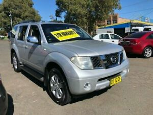 2005 Nissan Pathfinder R51 TI Silver 5 Speed Sports Automatic Wagon Lidcombe Auburn Area Preview