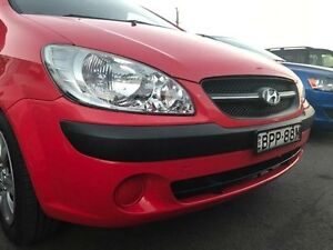 2010 Hyundai Getz TB S Red Manual Hatchback Sandgate Newcastle Area Preview