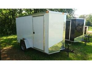$3,395 · BEST PRICE ON 6X10 + V NOSE CAGO TRAILERS