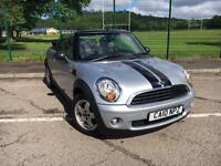 MINI ONE CONVERTIBLE 1.6 2010 *NICE CLEAN CAR, NEW MOT & SERVICE