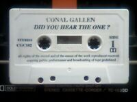 ABC CONAL GALLEN - DID YOU HEAR THE ONE? CASSETTE TAPES. VERY RARE. We've 100s more comedy tapes