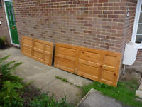 2 Pine doors (internal)