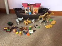Playmobil Noah's ark set excellent condition