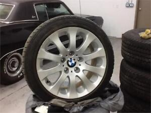 """4 17"""" BMW WINTER TIRES LIKE NEW FROM 328 $1000"""