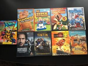 Kids DVDs. AVAILABLE