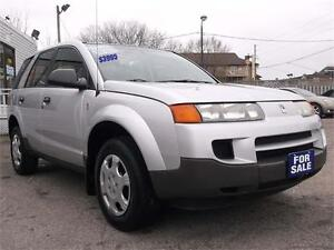 2003 SATURN VUE * ONLY 141,000 kms * COMPLETE SERVICE RECORDS *