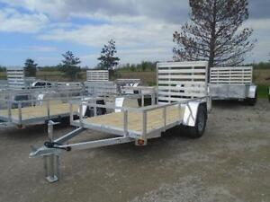 ALUMINUM TRAILERS AT DEALER PRICING - 2017 UTILITY 5 X 10 London Ontario image 2