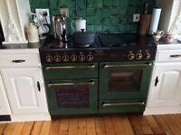 Twin oven electric cooker Rangemaster