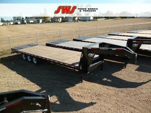 NEW 30' Gooseneck Trailer 2018