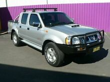 2010 Nissan Navara D22 MY08 ST-R (4x4) Silver 5 Speed Manual Dual Cab Pick-up Dubbo Dubbo Area Preview