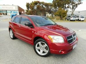 2008 Dodge Caliber PM R/T Red 5 Speed Manual Hatchback Wangara Wanneroo Area Preview