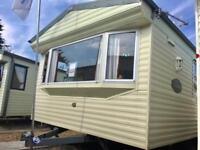 Willerby Vacation caravan at Coopers Beach, Mersea Island