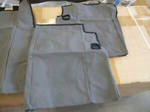 GENUINE FORTUNER CANVAS 3RD ROW SEAT COVERS GX GXL (PZQ22-89400) Kedron Brisbane North East Preview