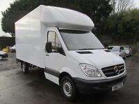 Mercedes-Benz Sprinter 313 CDi 129PS LWB Luton T/lift 3.5T DIESEL MANUAL (2013)